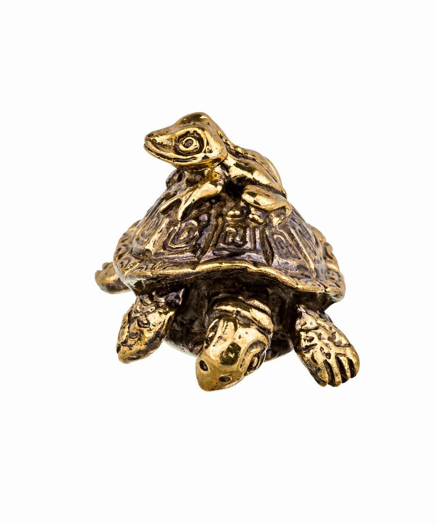 Черепаха и лягушонок без подставки 766.1