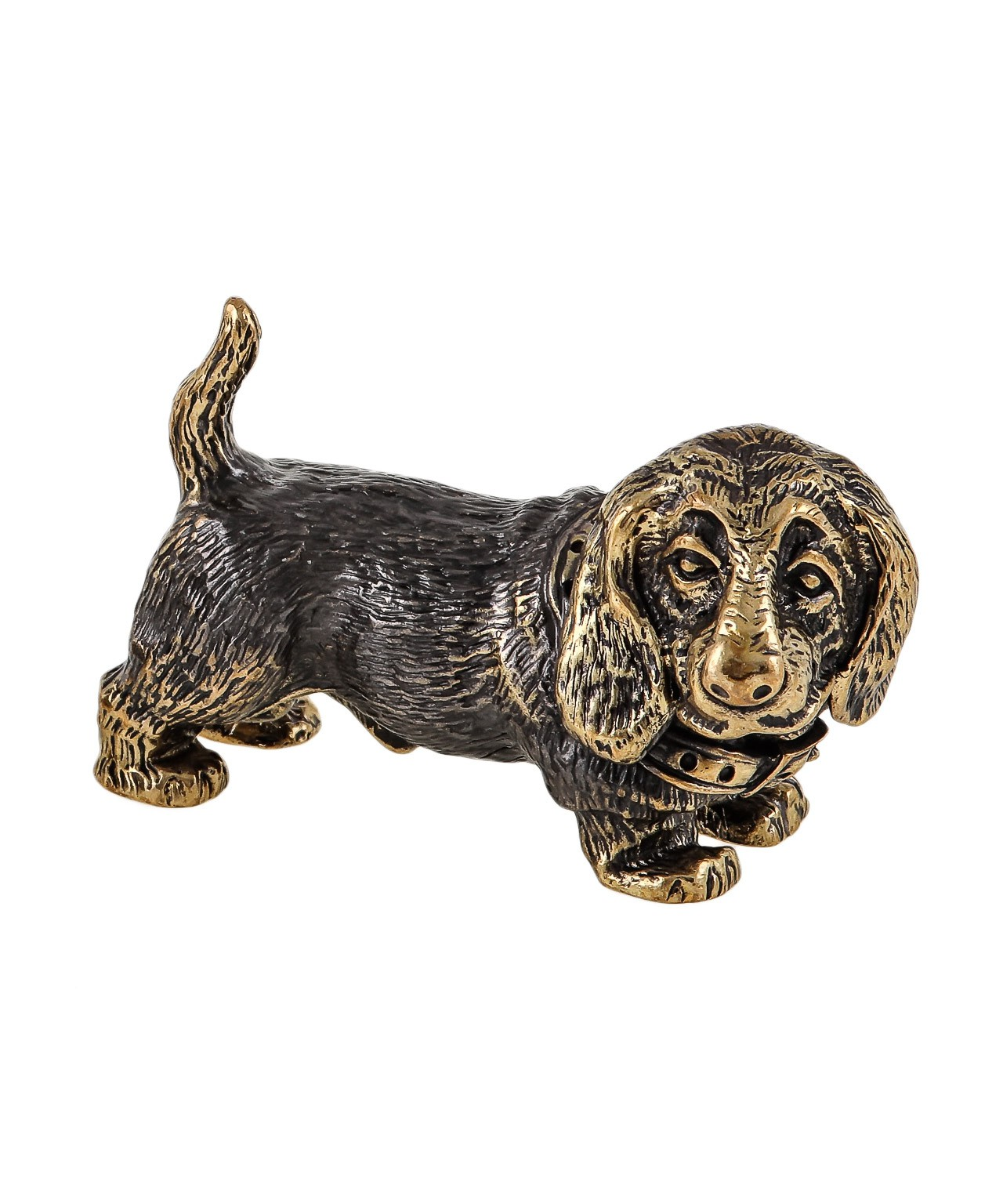 Собака Бассет дружный без подставки 1050.1