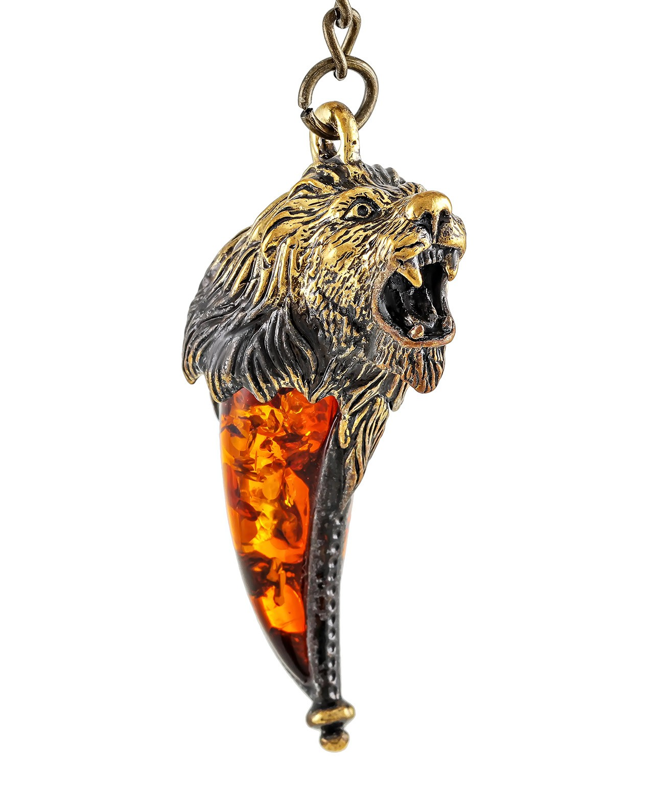 Брелок Клык Льва большой 1424