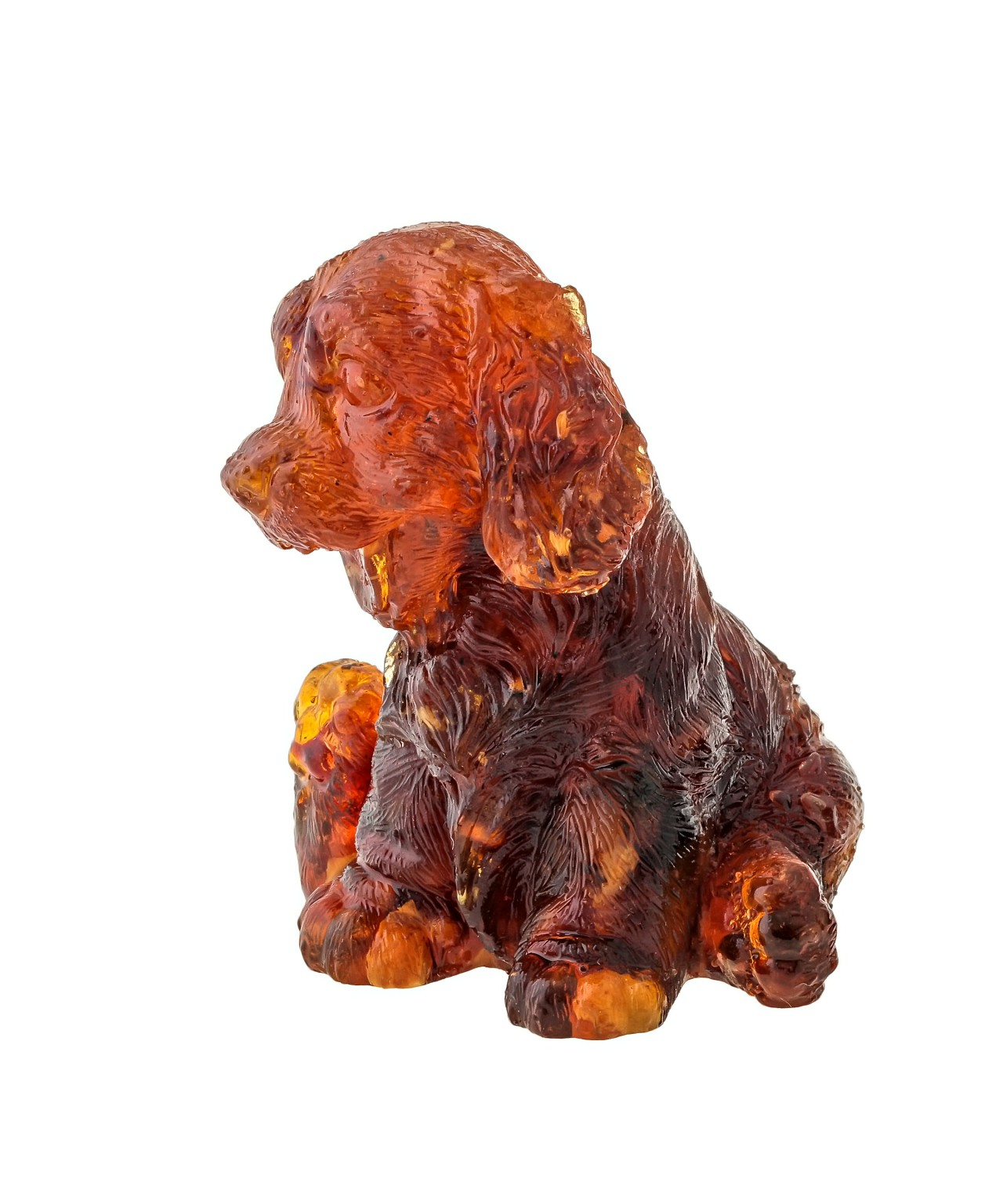Собака Спаниель Янтарный 1694