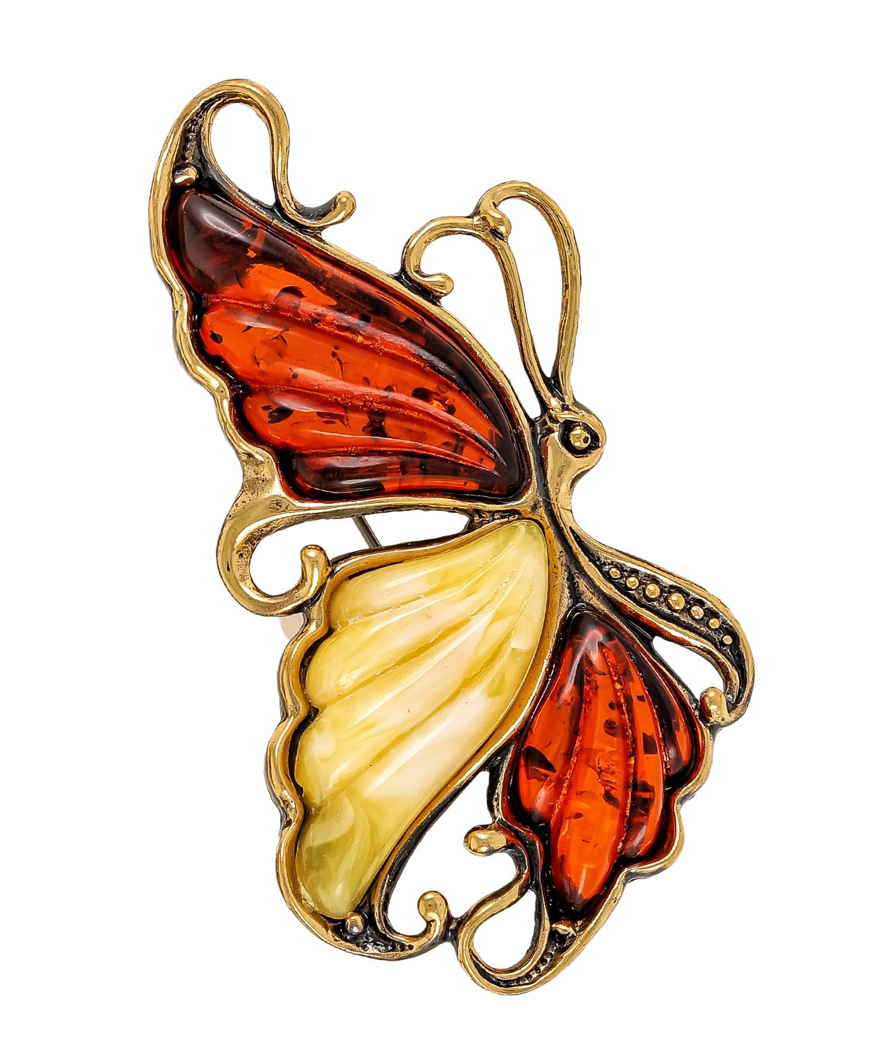 Брошь Бабочка Кудрявая 1826.4