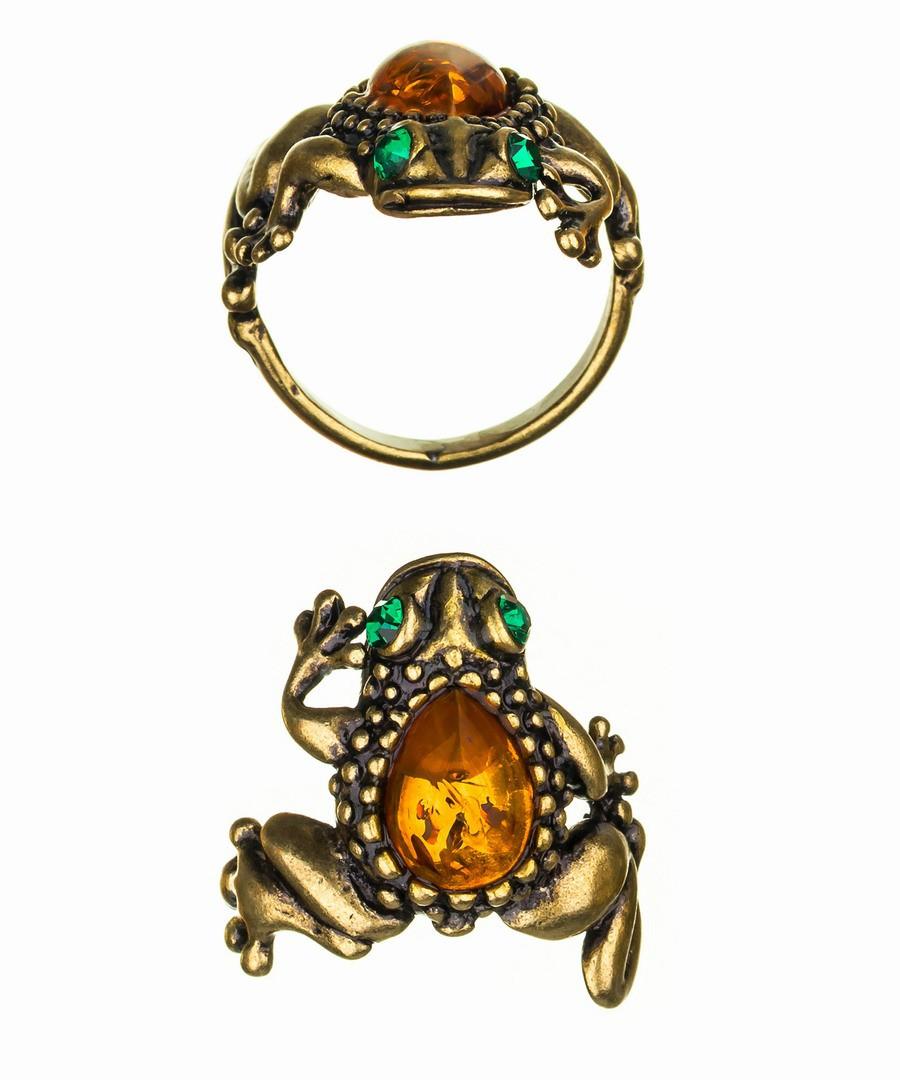 Кольцо Лягушка-2 368