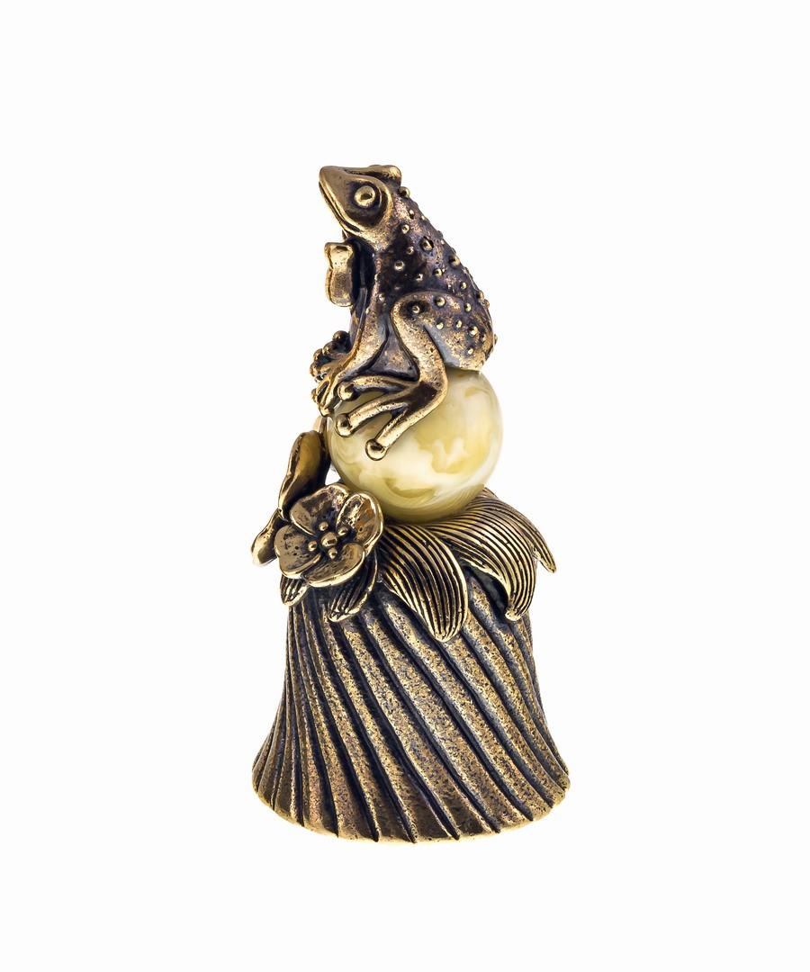 Колокольчик Лягушка на шаре 689