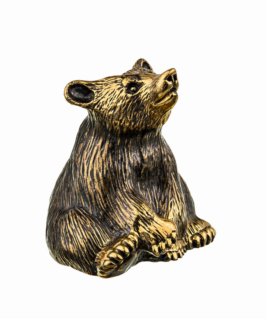 Колокольчик Медведь Сидящий 728