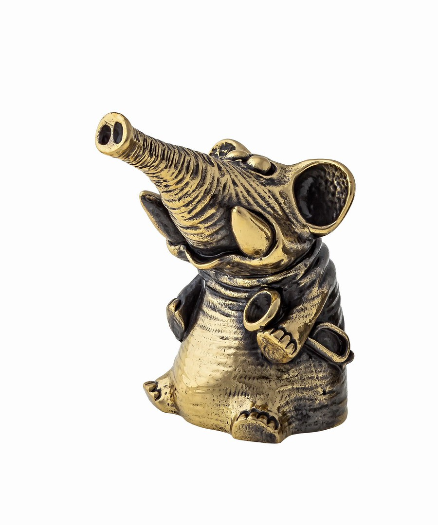 Колокольчик Слон с горном 1349