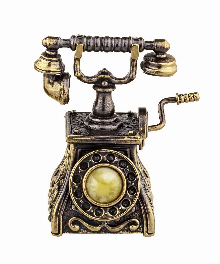 Колокольчик Телефон ретро 887
