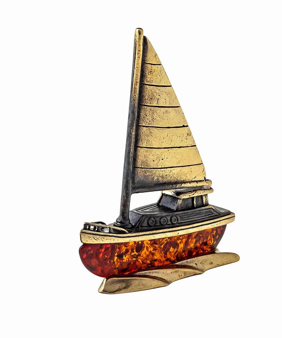 Корабль Яхта без подставки 1345.1