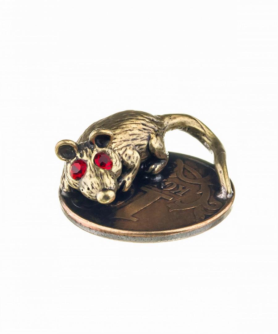 Кошельковая мышь-5 Хранительница на монетке 538