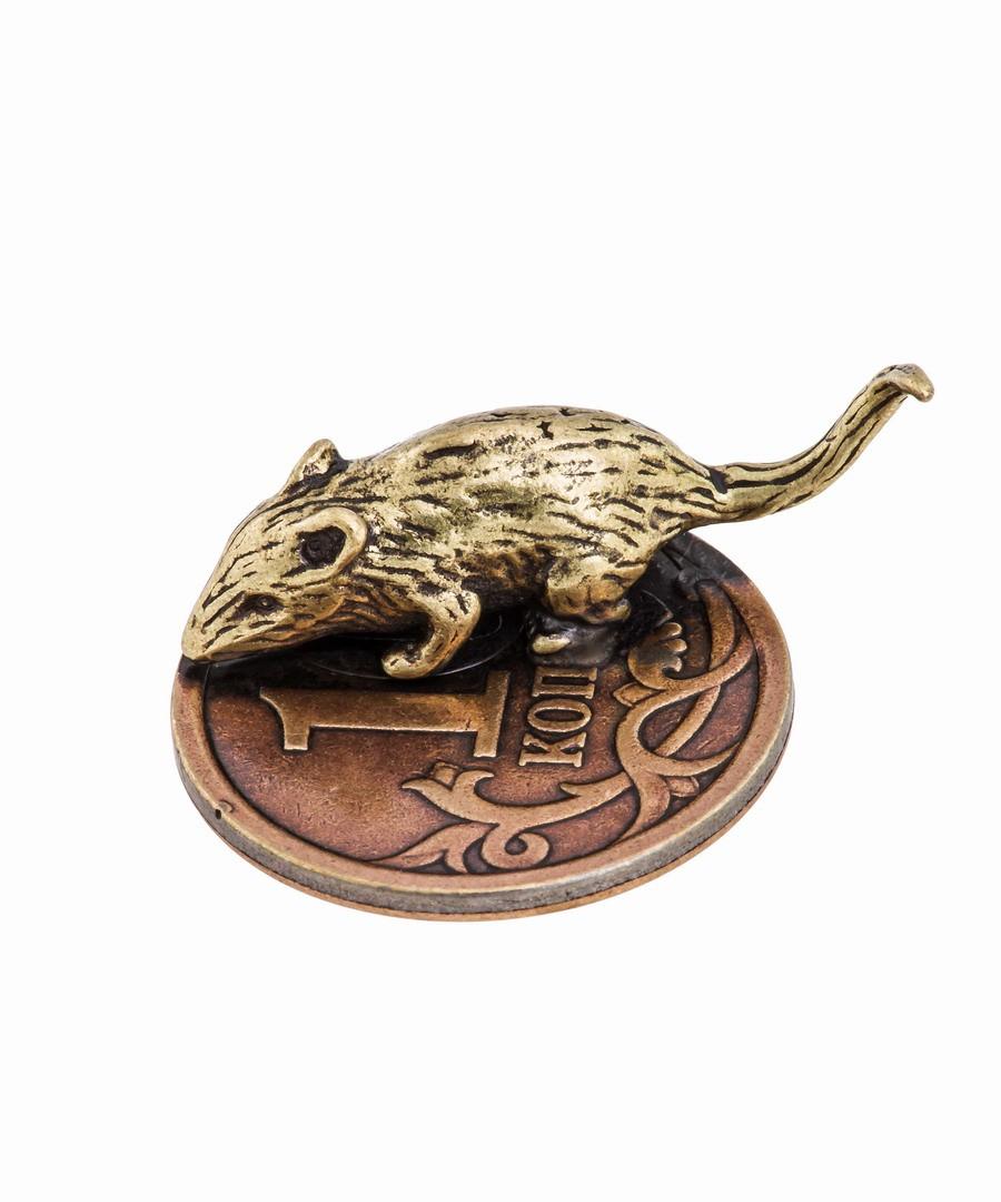 Кошельковая мышь на монетке 496