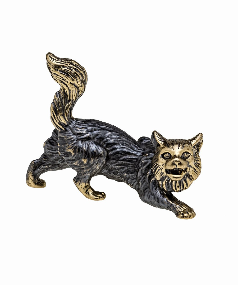 Кот охотник без подставки 651.1