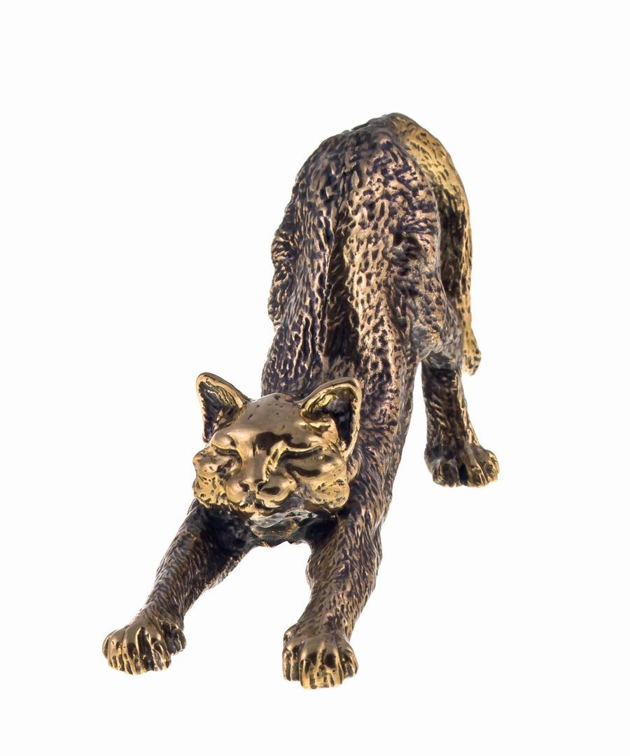 Кот потягивающийся без подставки 685.1