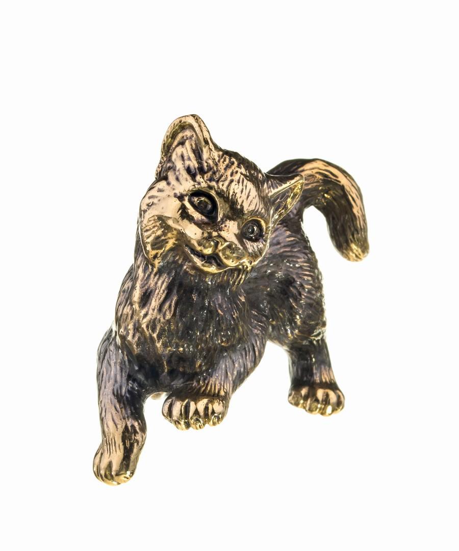 Котик игривый без подставки 691.1