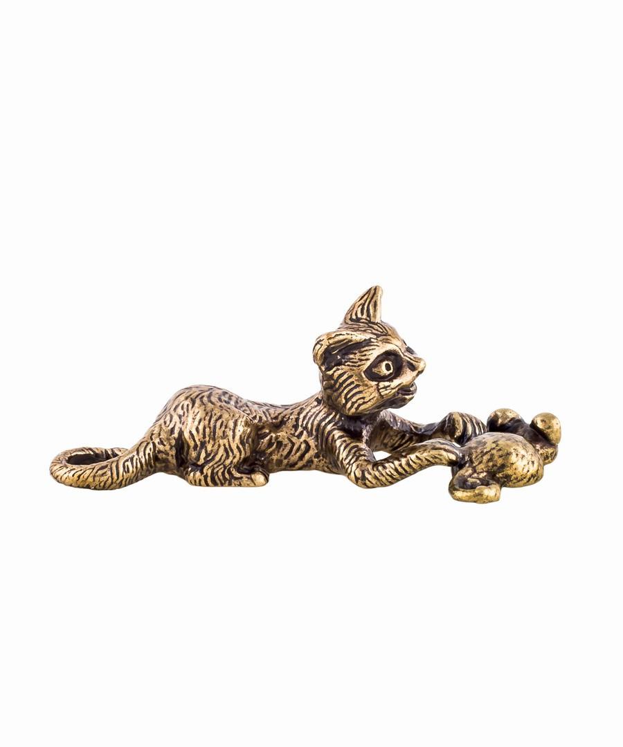 Котик с мышкой 575