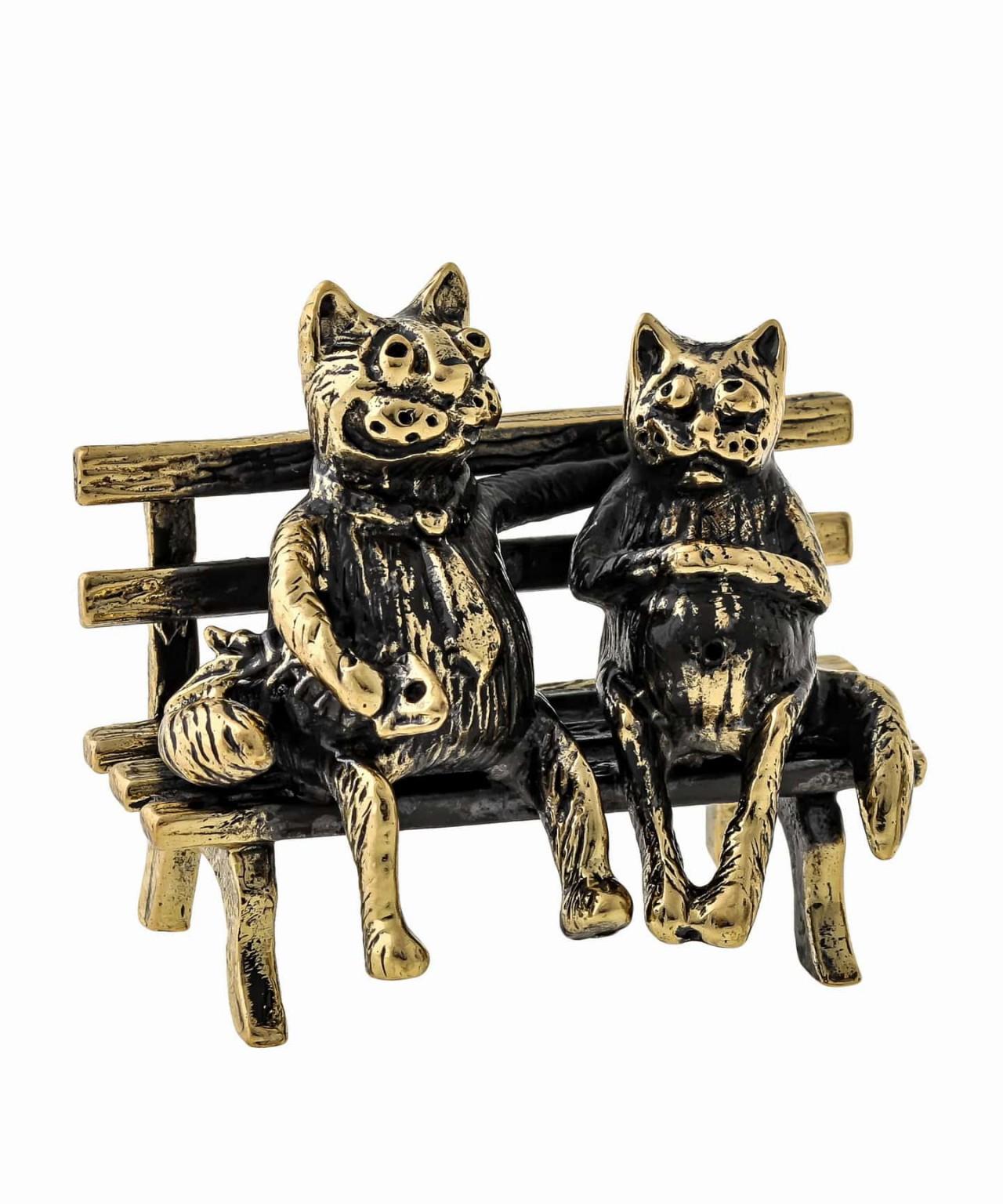 Коты Пара без подставки 1097.1