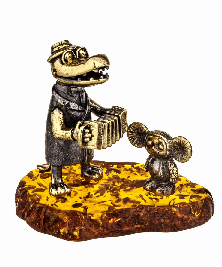 Крокодил Гена и Чебурашка 916
