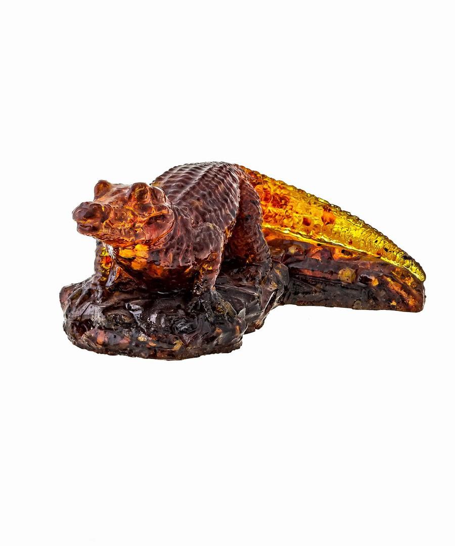 Крокодил янтарный 1363