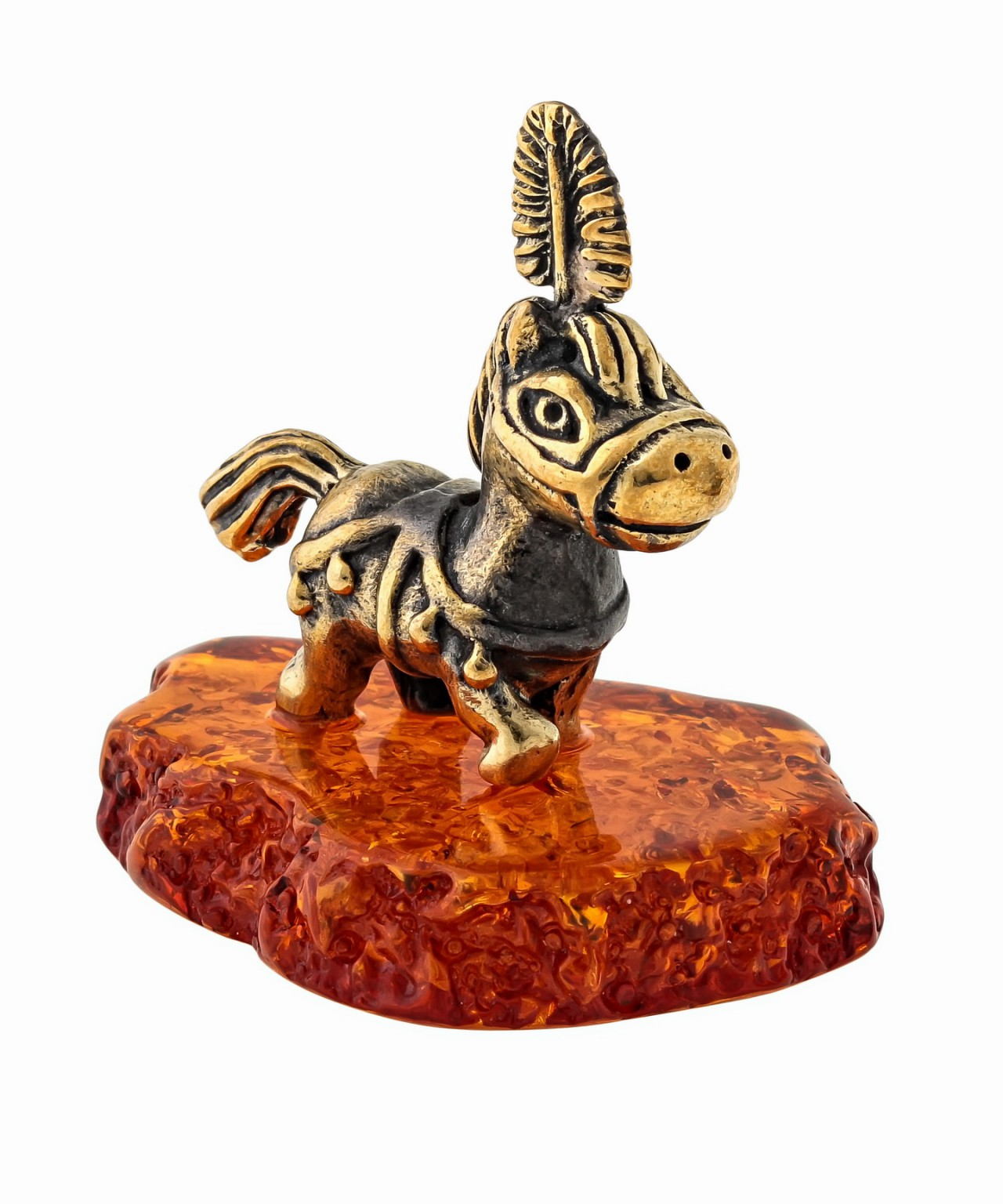 Лошадь Пони с пером 1506