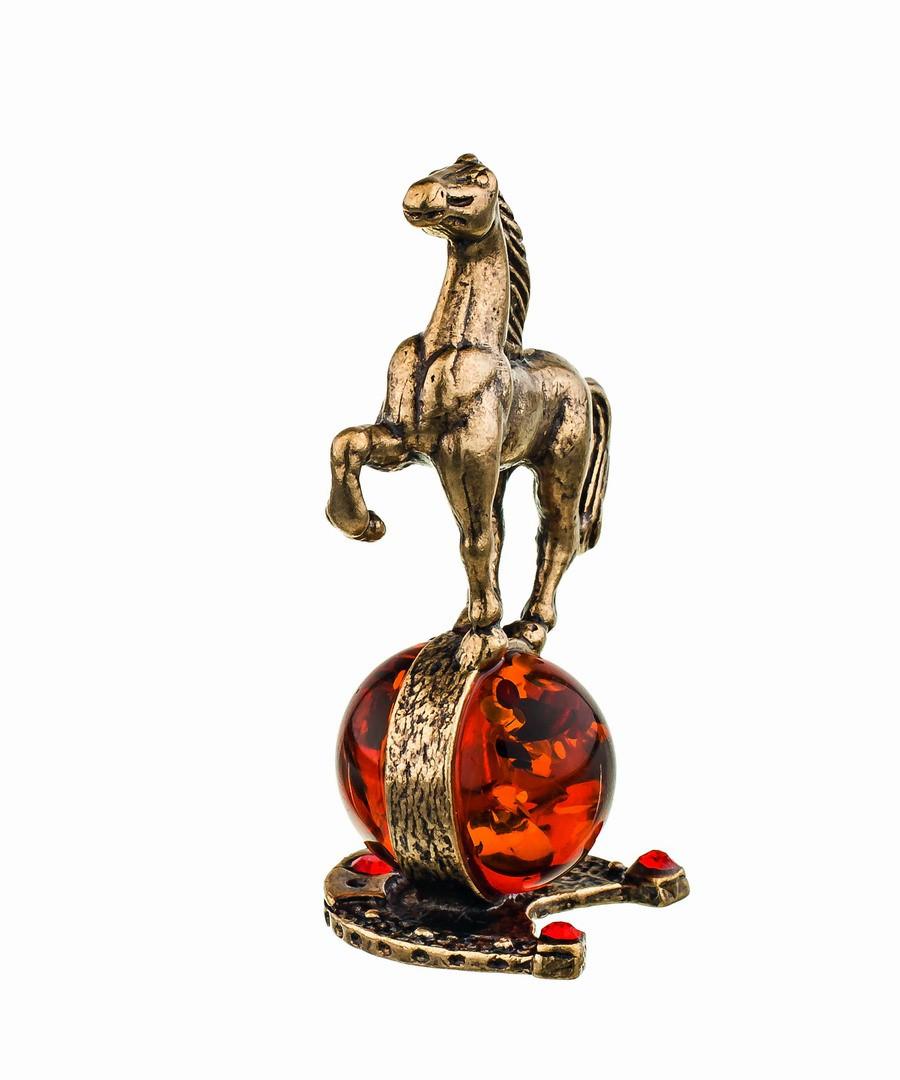 Лошадка на подкове-2 без подставки 384.1