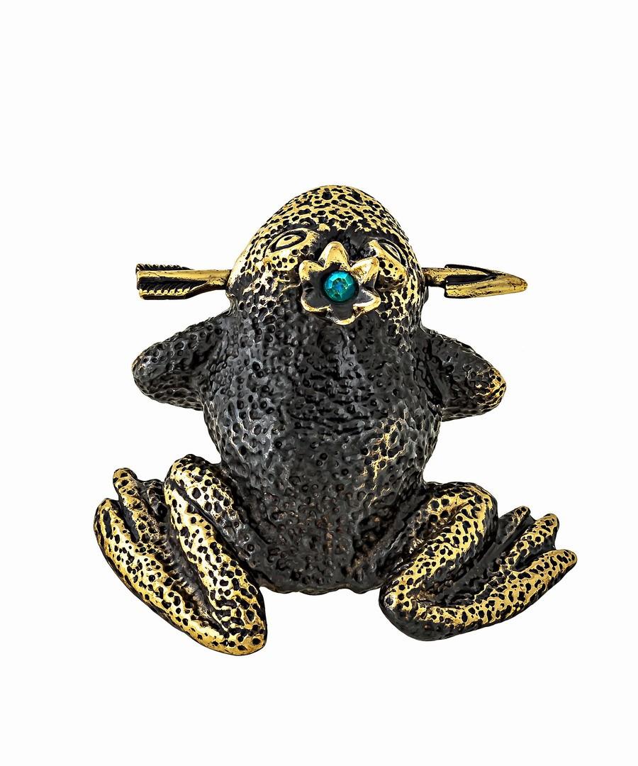 Лягушка Жаба со стрелой без подставки 1309.1