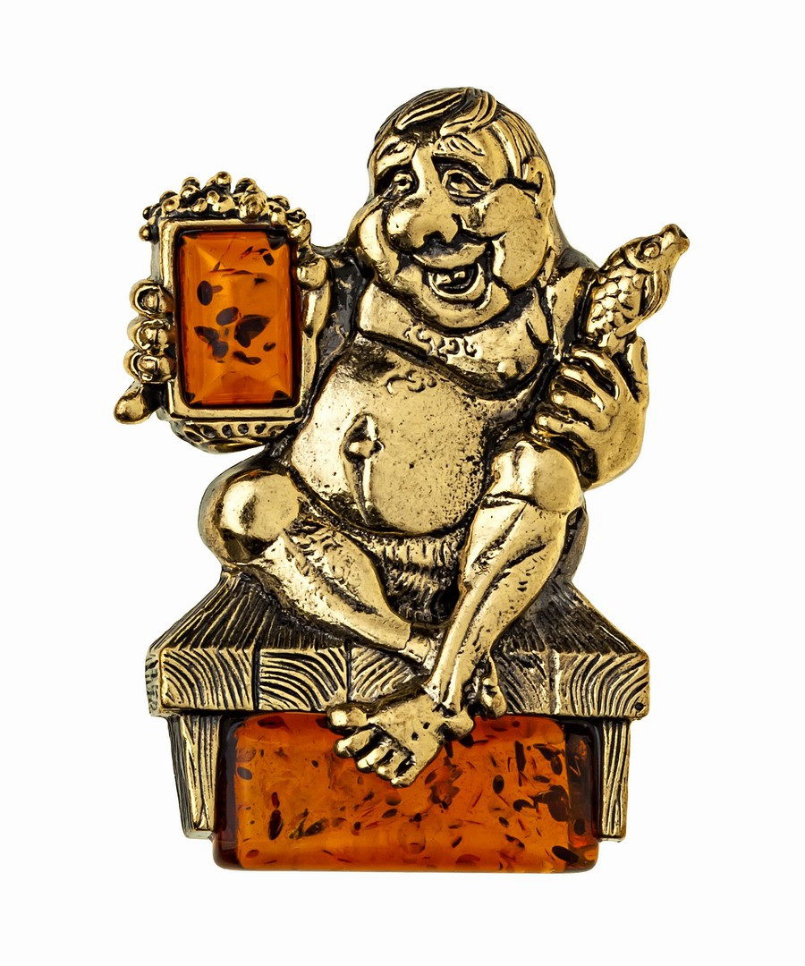 Магнит Любитель пива 1006