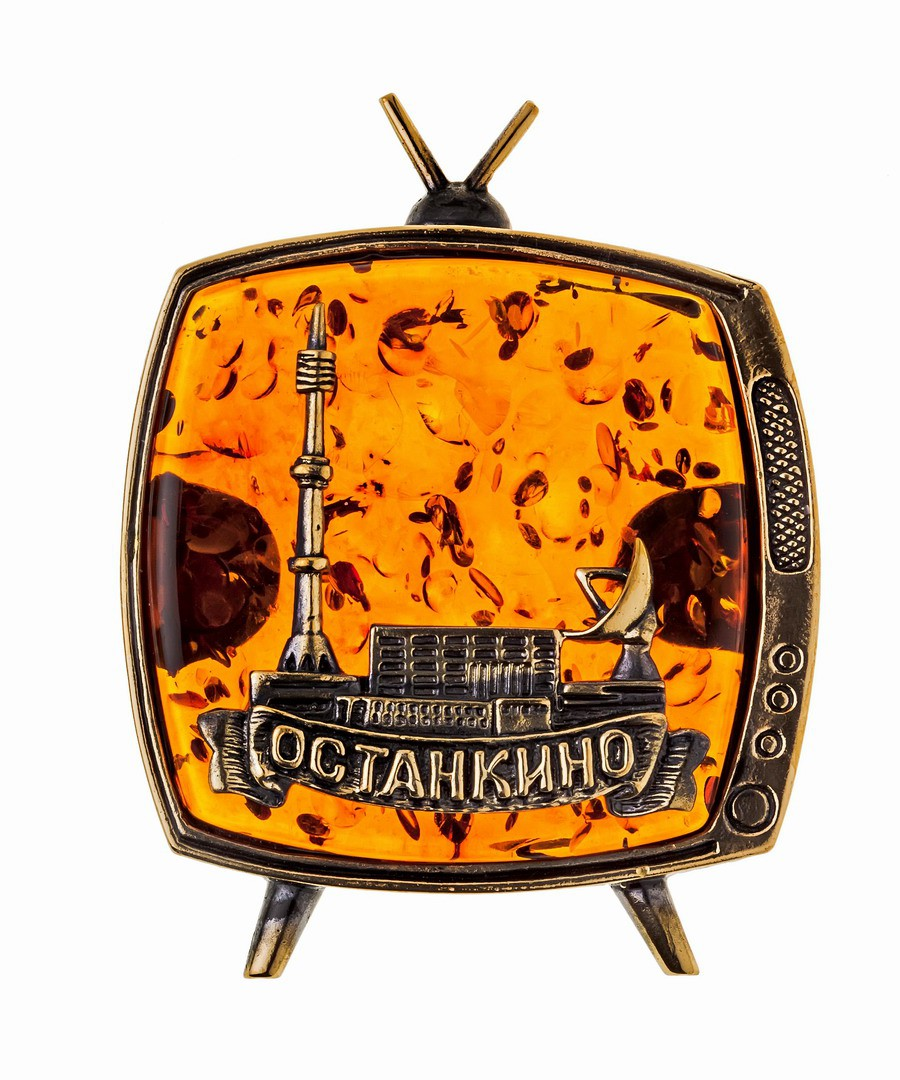 Магнит Телевизор Останкино 980