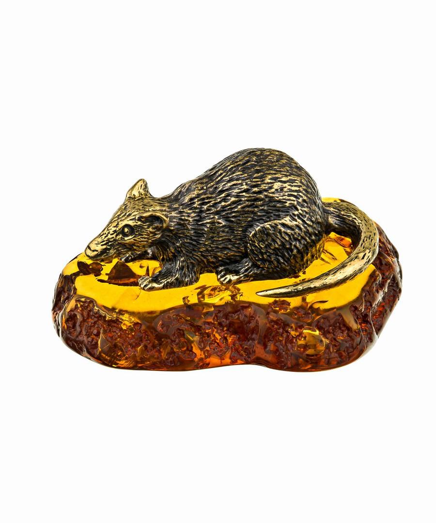 Мышь Крыса Мотя с подставкой 721