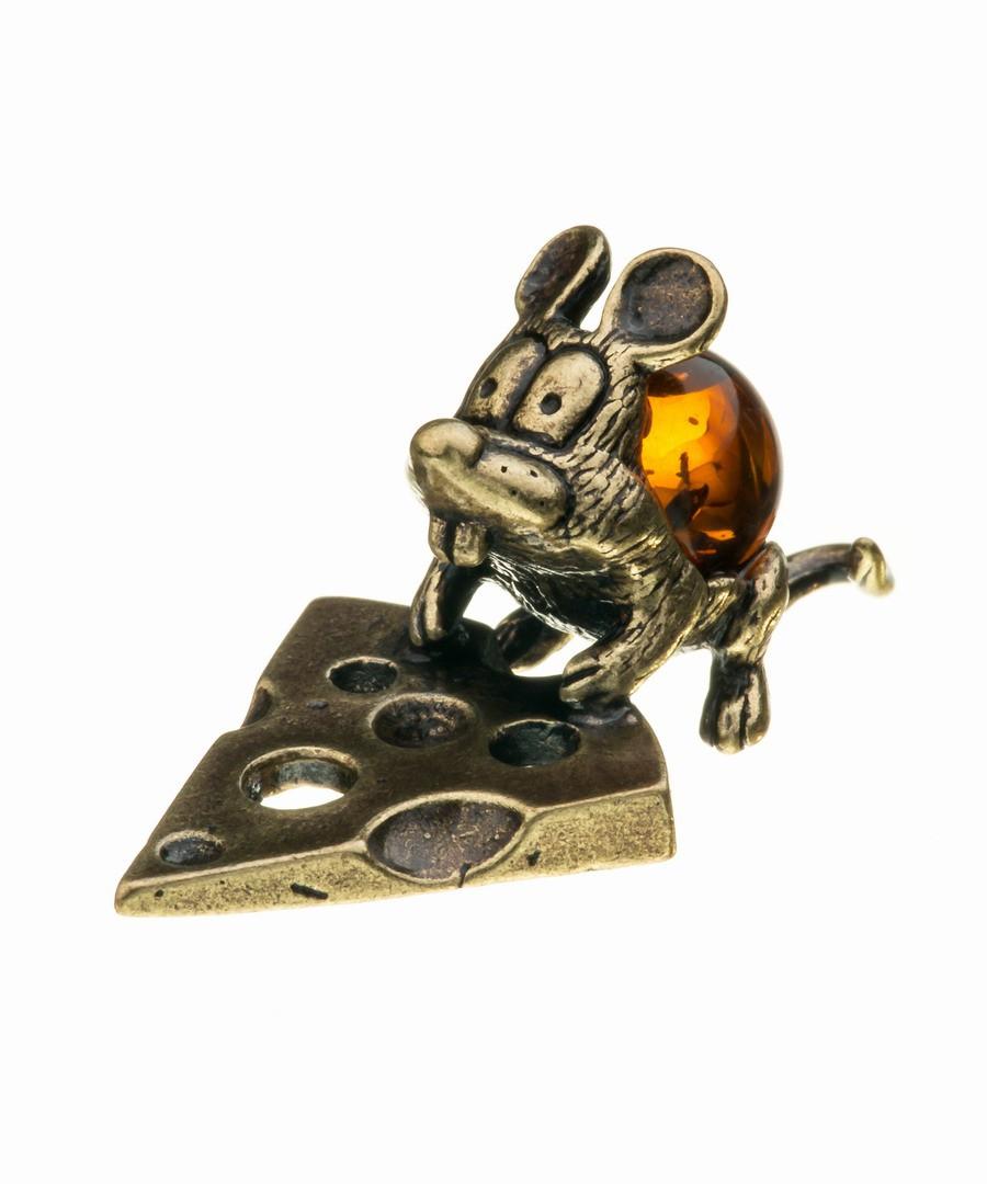Мышь Ушастик с сыром 532