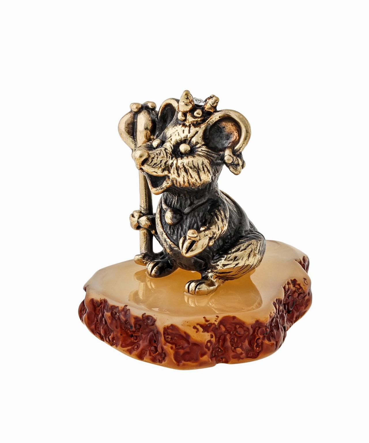 Мышь в короне со Скипетром 1550
