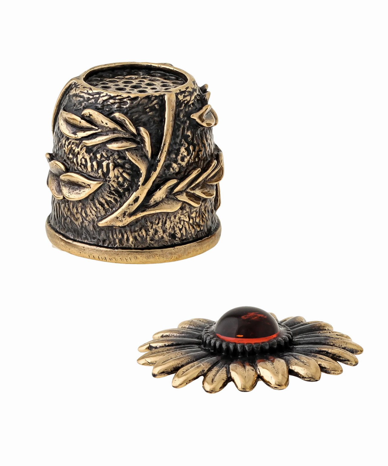 Наперсток Хризантема с магнитом 1531