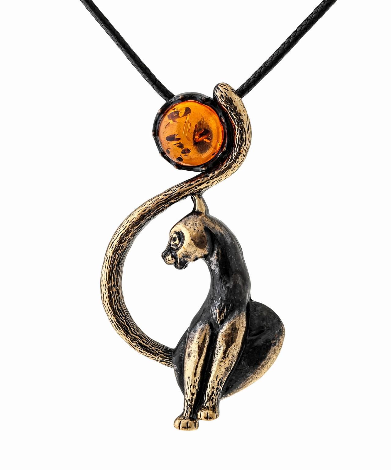 Подвеска Кошка Луна 1542.5