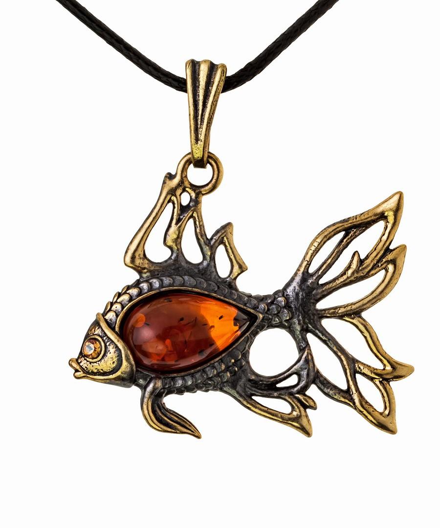 Подвеска Рыбка Золотая 918.5