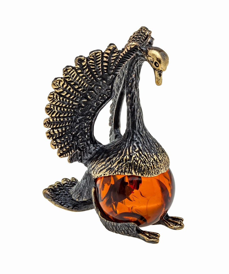 Птица Лебедь с шариком 1067