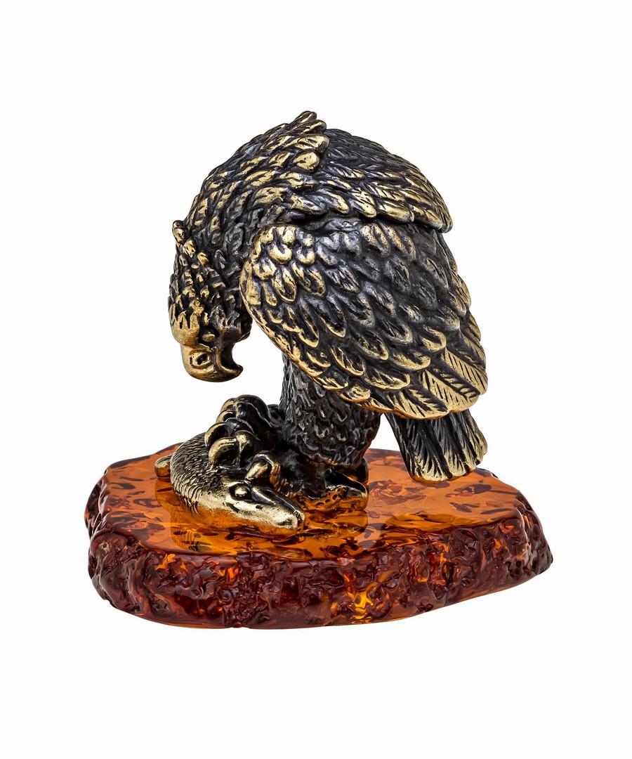 Птица Орел с рыбой 1033
