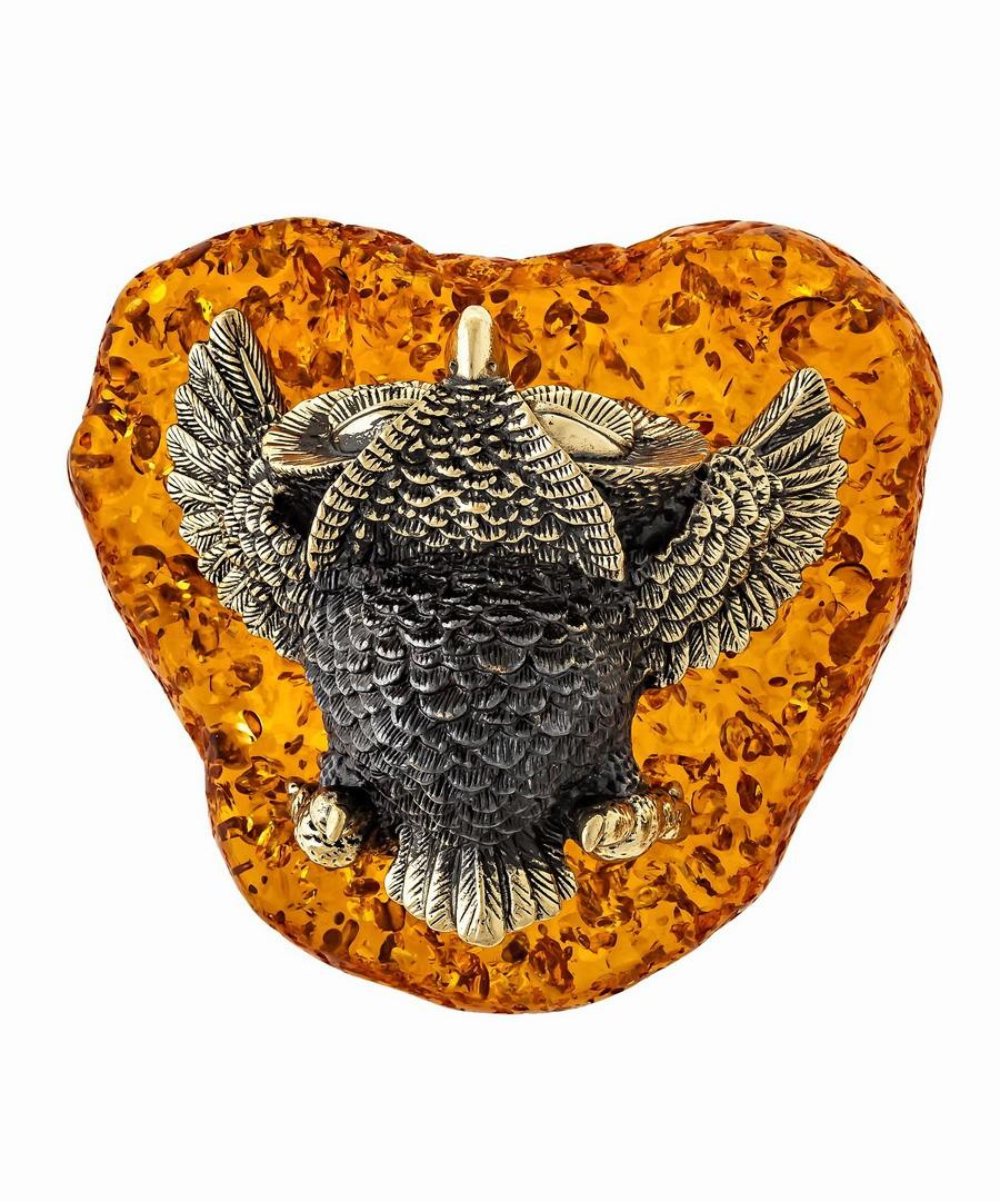 Птица Сова лежащая 1352