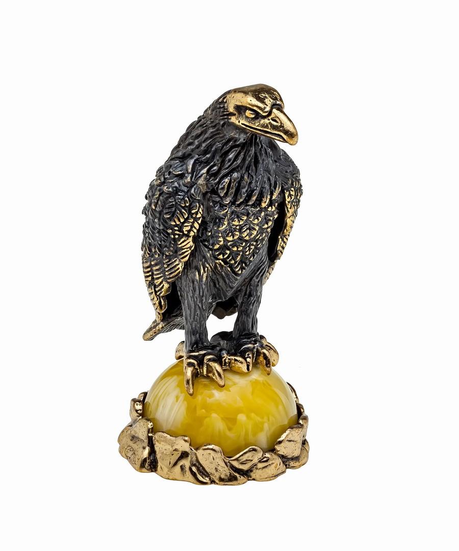 Птица Ворон на гнезде 1139