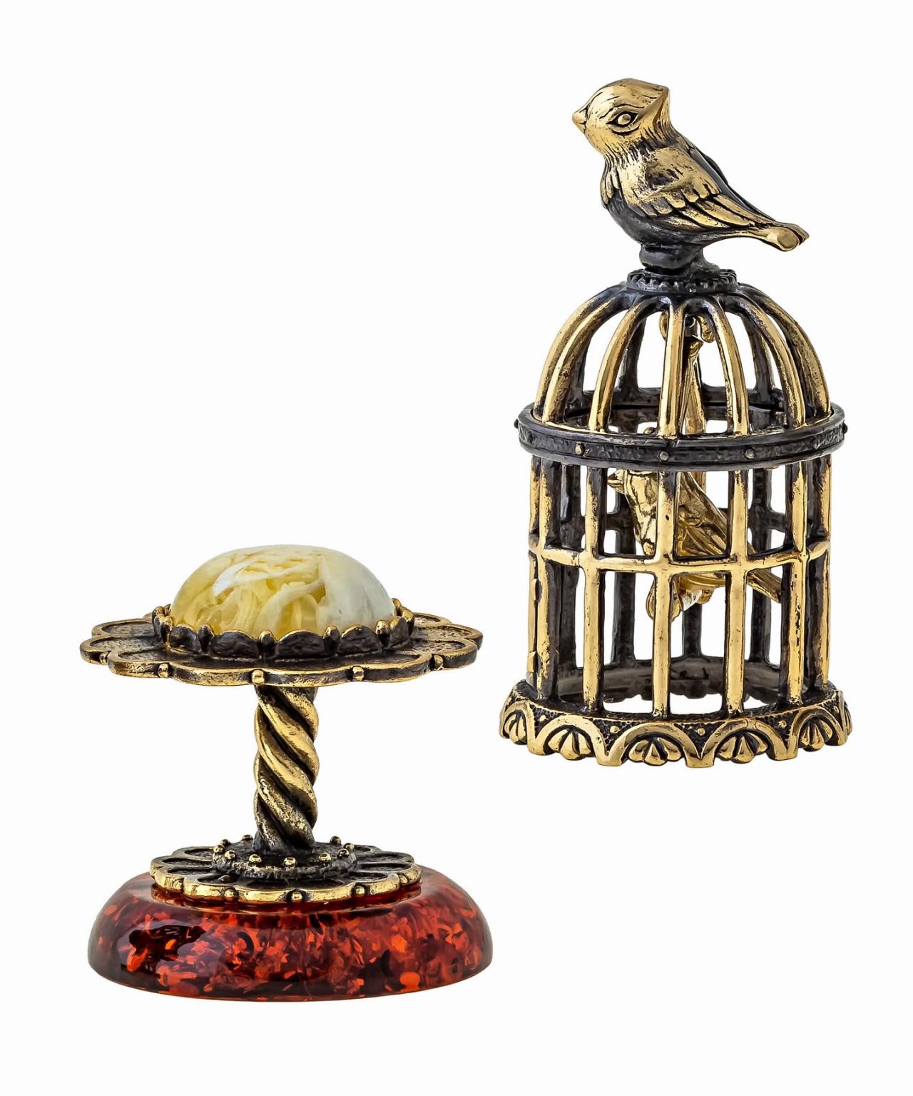 Птички в клетке 1372