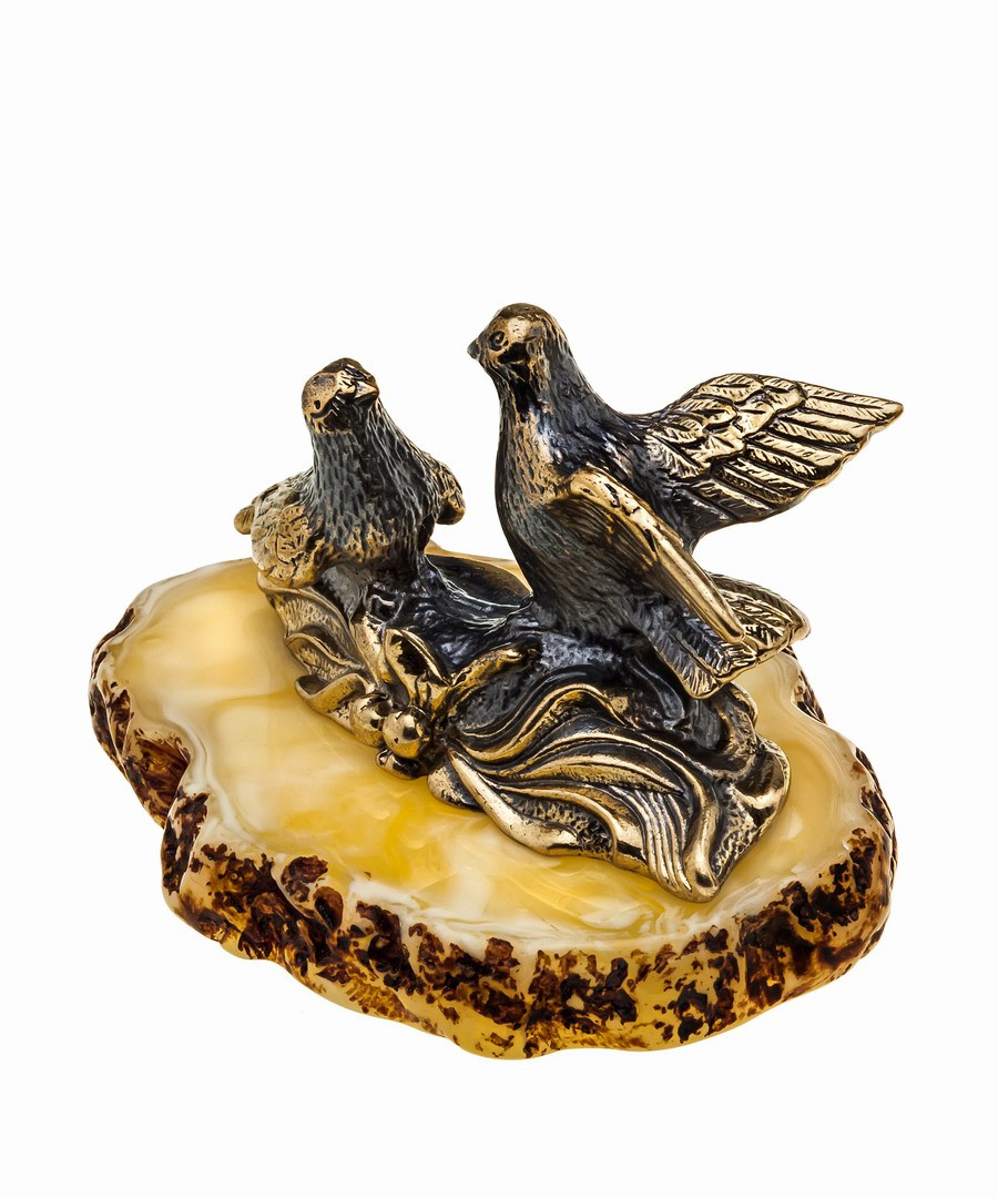Птицы Голубки Влюбленные 1021