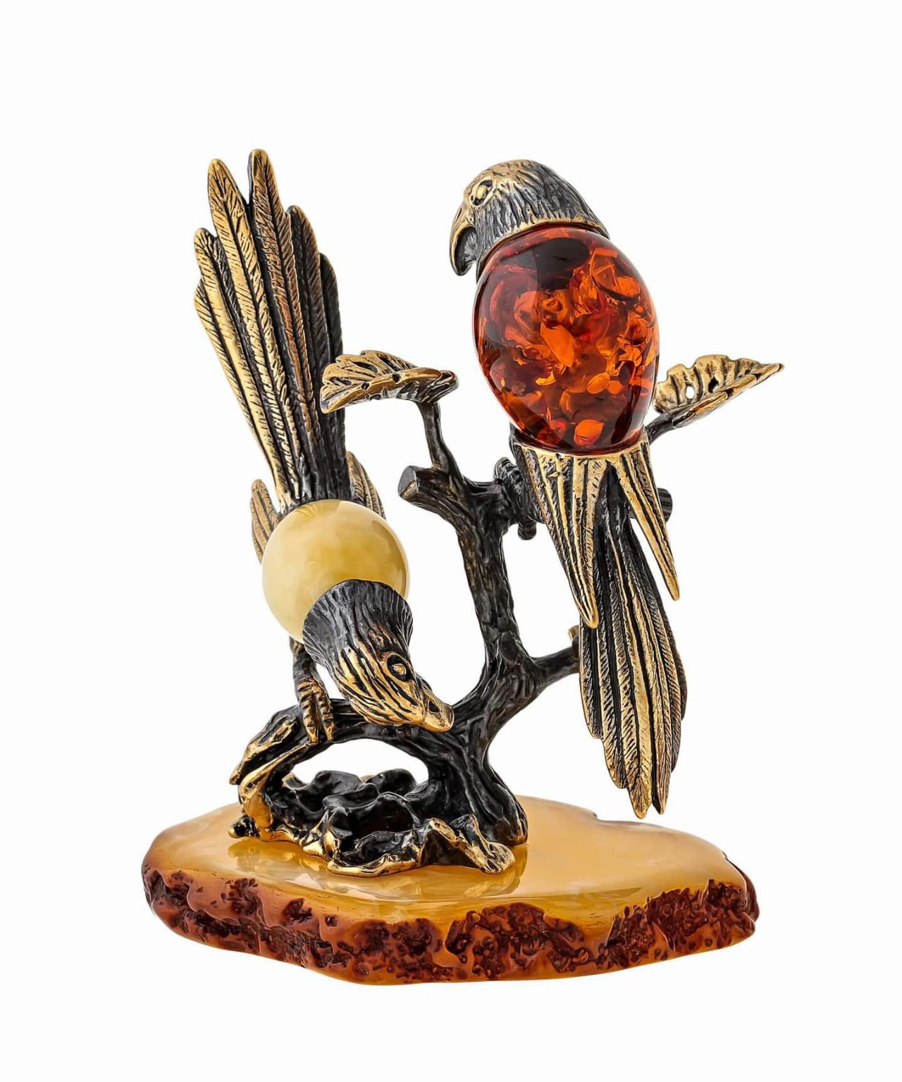 Птицы Попугаи Пара 1547