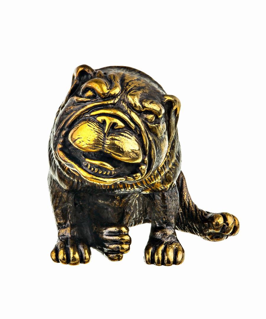 Собака Английский бульдог без подставки 727.1
