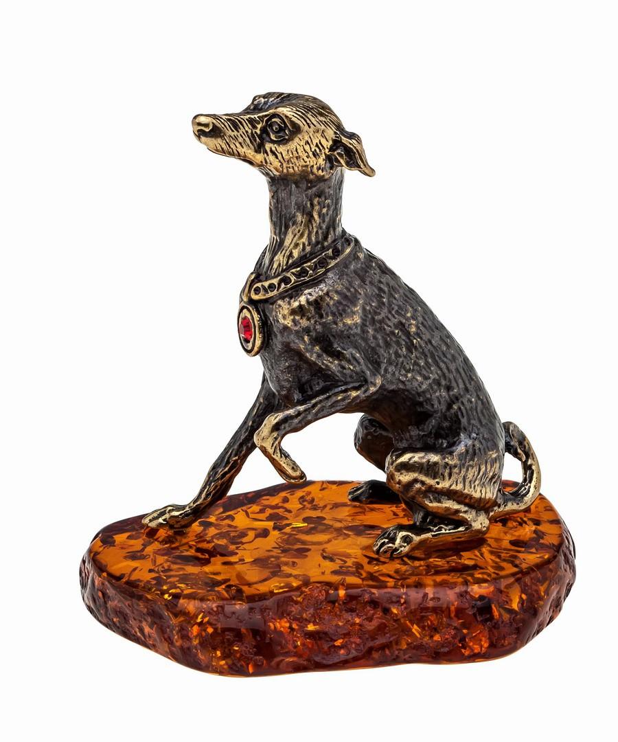 Собака Левретка 1028