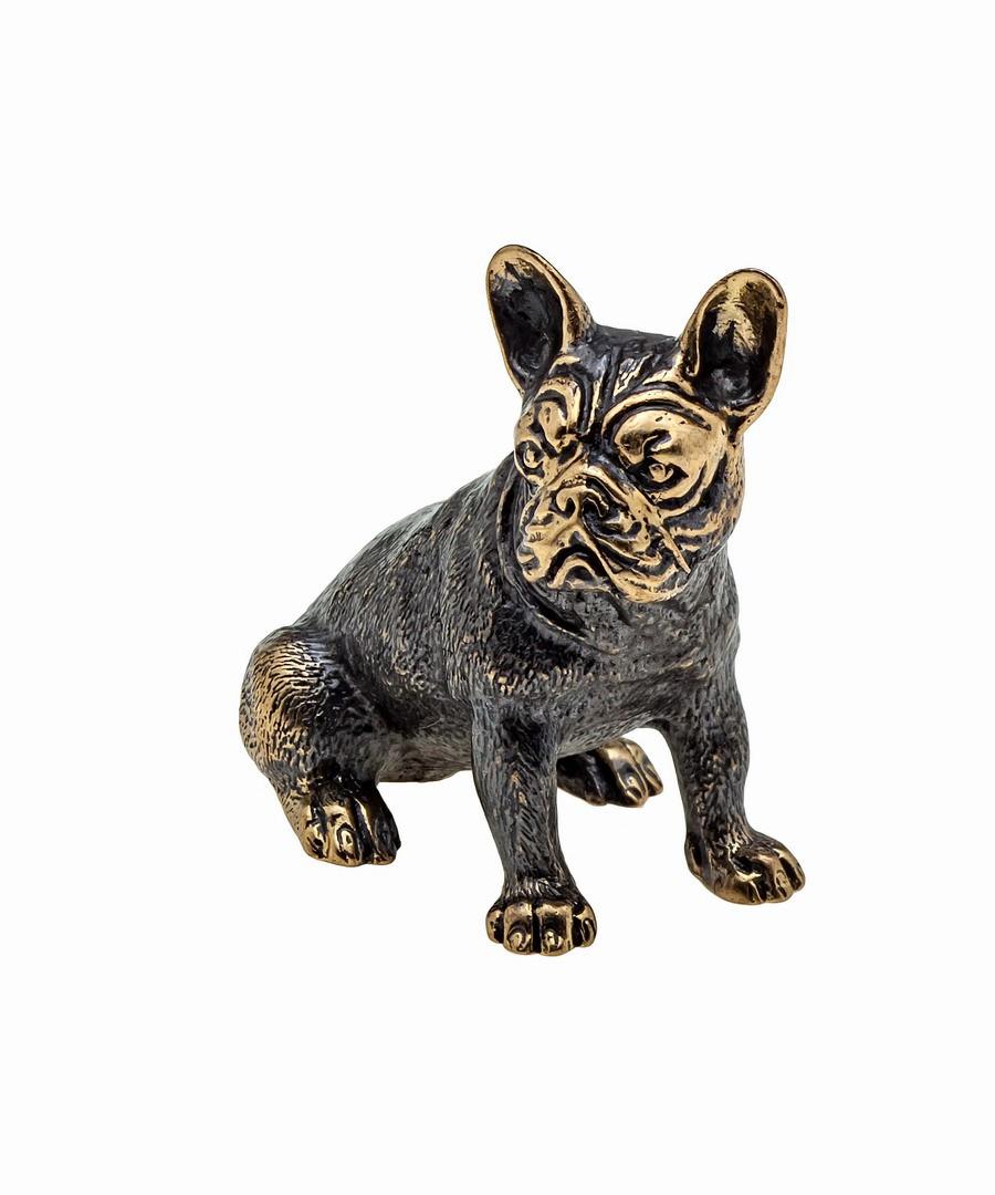 Собака Бульдог Американский без подставки 846.1