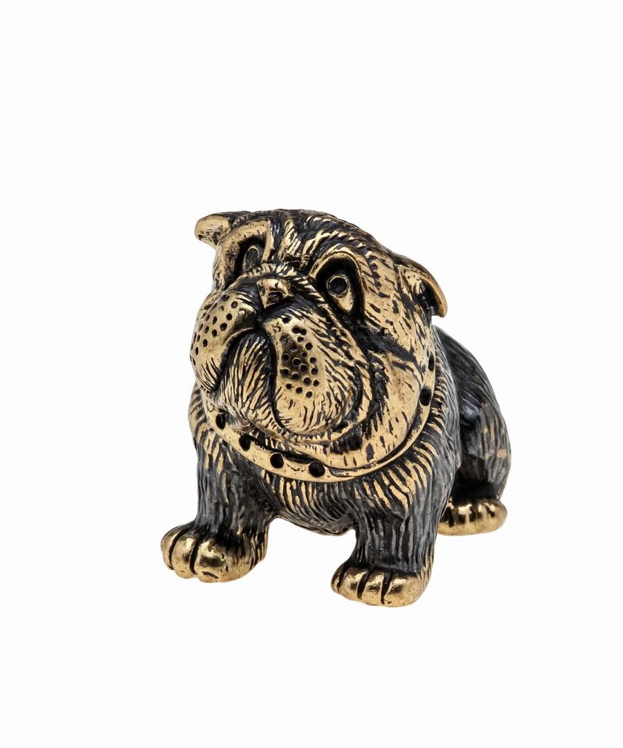 Собака Бульдог Английский Щенок без подставки 1031.1