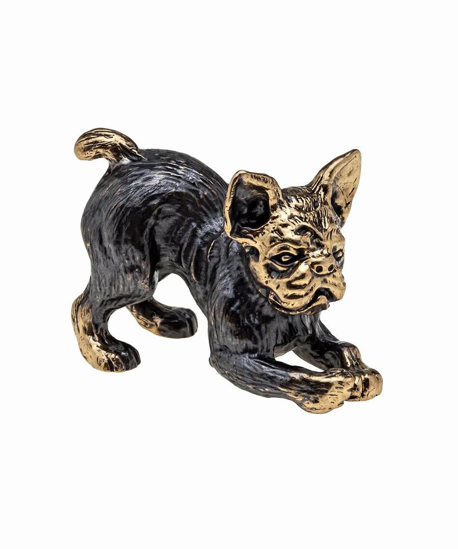 Собака Бульдог Французский без подставки 822.1