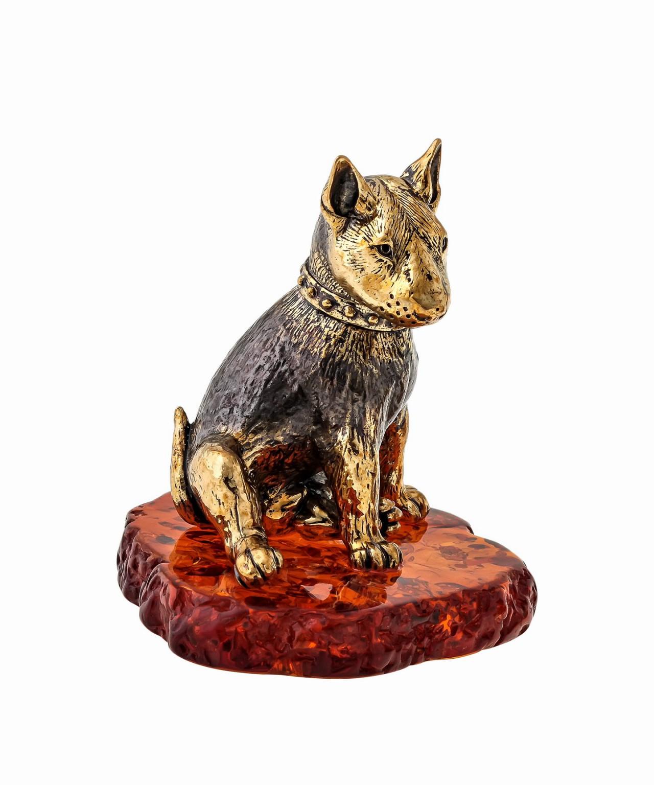 Собака Бультерьер 1609