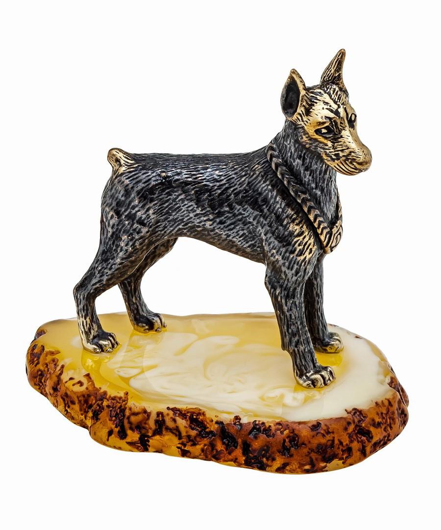 Собака Доберман 1076