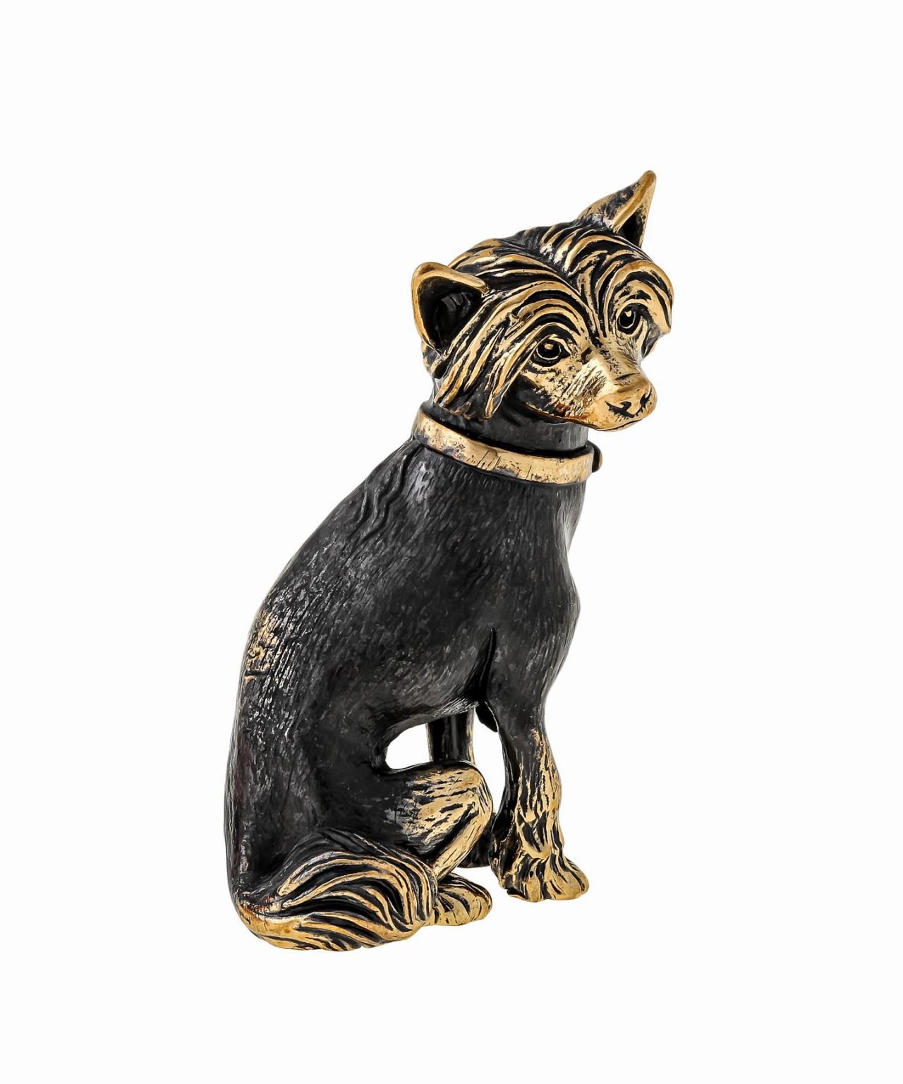 Собака Китайская Хохлатая без подставки 1496.1