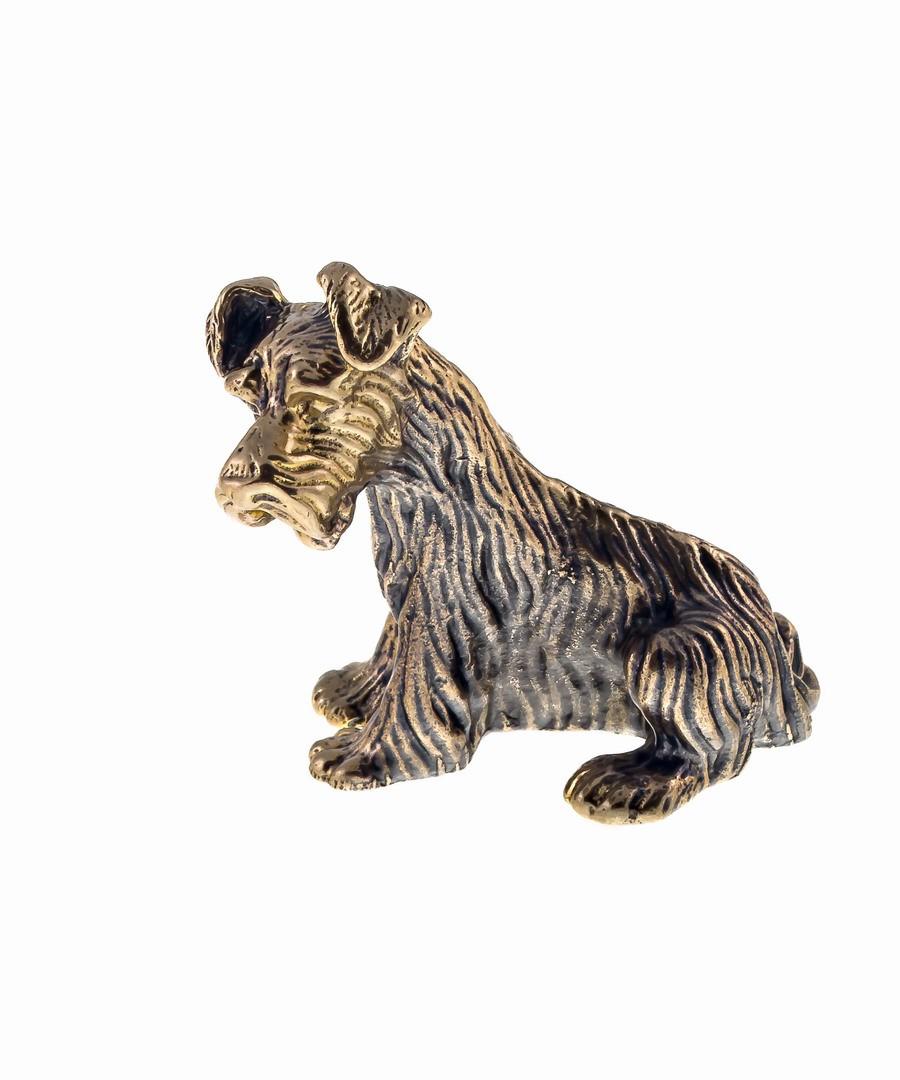 Собака Шнауцер без подставки 675.1