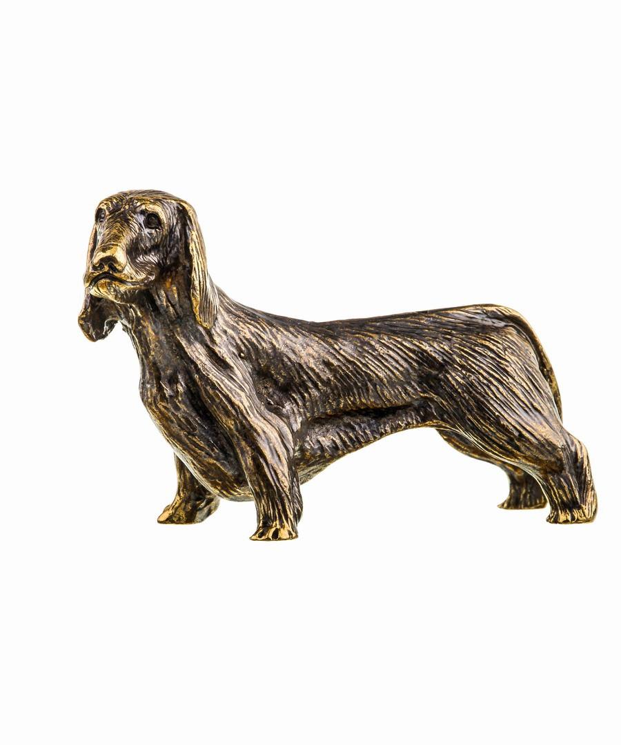Собака Такса длинношерстная без подставки 652.1