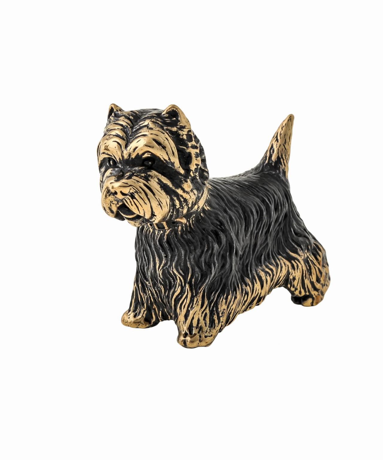 Собака Вест-хайленд-уайт терьер б/п 1497.1