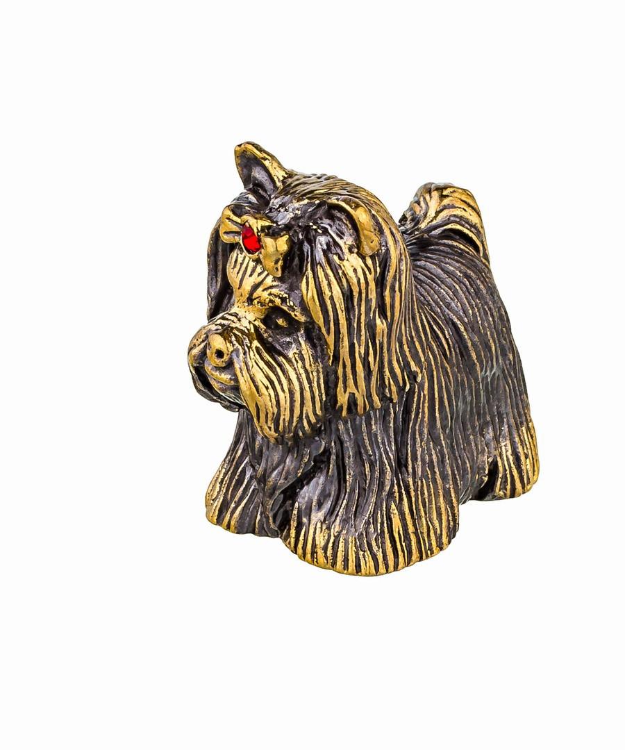 Собака Йорк-Бивер  без подставки 750.1
